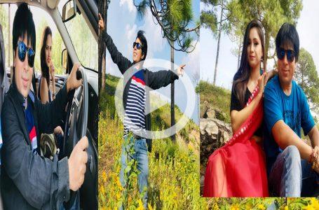 Garhwali Songs Shooting: जौनपुर की वादियों में चल रही है गढ़वाली गानों की शूटिंग,देखें रिपोर्ट