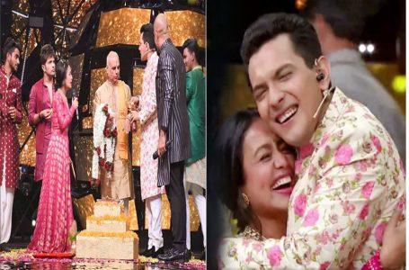 Neha Kakkar wedding:नेहा कक्कड़ और आदित्य नारायण की हुई 'शादी', देखें वीडियो